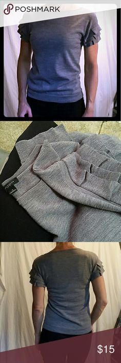 Ann Taylor Merino Wool Sweater - Fabulous! Beautiful and perfect career sweater. Rock it with jeans &  heels or a suit. 100% fine merino wool Ann Taylor Tops