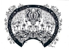 This is paper cutting, which is insane! But also inspiring :-)