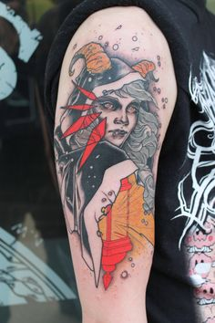 Lady of the Lantern by Mike Moses at Spiritus Tattoo in Columbus OH - Imgur