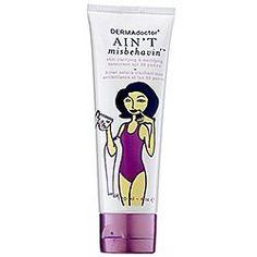 Dermadoctor Ain't Misbehavin' Skin Clarifying & Mattifying Sunscreen SPF 30 P+++ (Quantity of 1) . $68.00