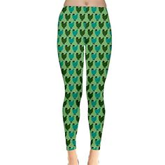 Jogja Chickens Pattern Leggings Green *** Click image for more details.(This is an Amazon affiliate link and I receive a commission for the sales)