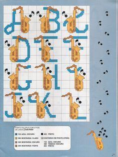Alfabeto sassofoni