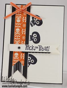 Halloween Card,Stampin' UP!, Founders Circle Card Swap, http://www.luvinstampin.com/2013/10/halloween-card-inspiration.html