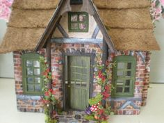 Frog's Cottage Doll house..so cute..