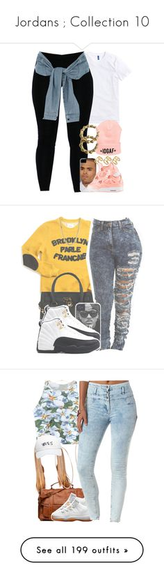 """""""Jordans ; Collection 10"""" by blueberriecupcakess ❤ liked on Polyvore featuring ASOS, River Island, Brooklyn We Go Hard (BWGH), Michael Kors, Lauren Ralph Lauren, Proenza Schouler, Retrò, Chicnova Fashion, Charlotte Russe and October's Very Own"""