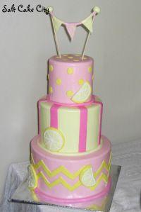 Salt Cake City Pink Lemonade Birthday Cake