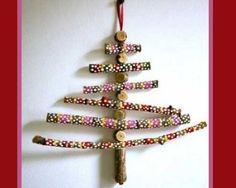 Decorazioni di Natale con il legno: addobbi natalizi fai da te