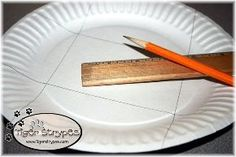 create a paper plate gift box, crafts, seasonal holiday decor