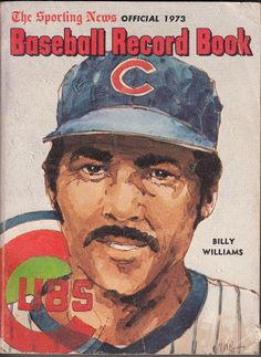 Chicago Cubs program (1973) - Billy Williams
