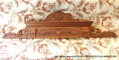 50 in Victorian Pediment 19 TH Antique French Carved Wood Panel Architechtural 2 | eBay