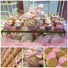"""490 Likes, 9 Comments - Pretty Posh Parties™ (@prettyposhparties) on Instagram: """"Are they as good as they look?! Absolutely! @cakepopboutique #cakepops #cupcakes #caketable…"""""""