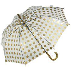 PVC Gold Spot Umbrella