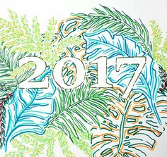 A Lush 2017 (New Year Illustration in markers by Lau Sheow Tong 劉绍忠)