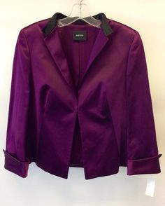 #Akris #Jacket #Silk #SAtin | Size 12 | $225! Call for more info (781)449-2500. #FreeShipping #ShopConsignment  #ClosetExchangeNeedham #ShopLocal #DesignerDeals #Resale #Luxury #Thrift #Fashionista