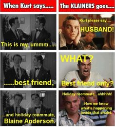 """holiday roommate"" (likely story)  I think what I love the most is the klainers reaction photos are all of Puck xD"