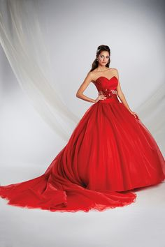Snow White Inspired Princess Wedding Gown - 2015 Disney's Fairy Tale Weddings by Alfred Angelo