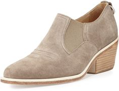 Rag & Bone Finlay Suede Ankle Bootie. What a fantastic look.