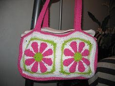 Ravelry: Daisy Duffle Bag pattern by C.L. Halvorson