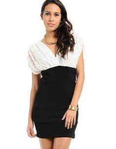 (CLICK IMAGE TWICE FOR DETAILS AND PRICING) Elegant Night Dress White. Wear this elegant night dress to any event, giving you an elegant v neck flow on the top and body fitting in the bottom.. See More Party Dress at http://www.ourgreatshop.com/Party-Dress-C79.aspx