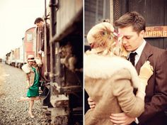 LOVE the 30's feel... and the trains!! <3