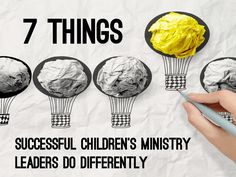 7 Things Successful Children's Ministry Leaders Do Differently ~ RELEVANT CHILDREN'S MINISTRY