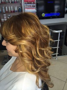 Color ,cut and blowdry