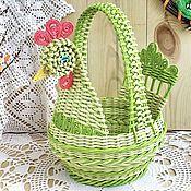 Newspaper Crafts, Cozy House, Weaving, Basket, Handmade, Home Decor, Paper Basket, Newspaper Art, Knit Basket