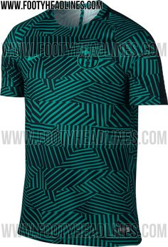 d2177f056 The new FC Barcelona Pre-Match Jersey introduces a stunning look for the  Catalan giants.