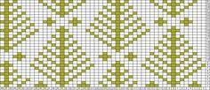 Gráficos Tricksy Knitter: Árboles por Marina