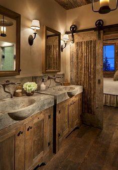 13 Cool Farmhouse Bathroom Makeover Design Ideas