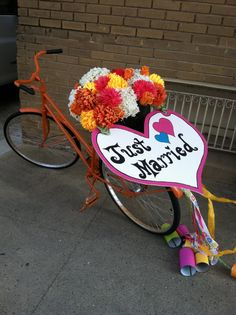 baskets of flowers on bikes - Google Search