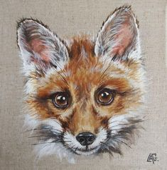 Fox Drawing, Pastel Drawing, Pastel Art, Animal Sketches, Animal Drawings, Art Drawings, Mini Paintings, Animal Paintings, Watercolor Animals