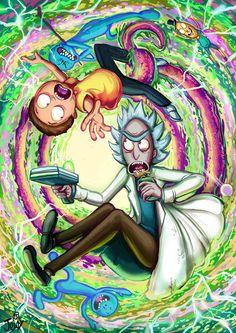 Rick and Morty Rick And Morty Quotes, Rick And Morty Poster, Rick And Morty Drawing, Rick I Morty, Rick And Morty Characters, Ricky And Morty, Gothic Fantasy Art, Stoner Art, Psy Art