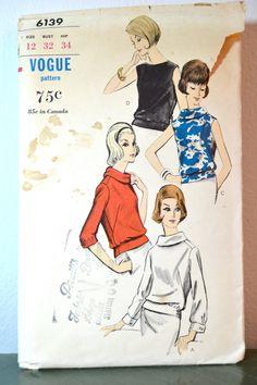 1960s Vintage Vogue Pattern 6139 Misses by TabbysVintageShop, $7.95