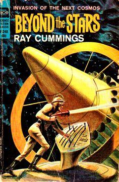 Ray Cummings, Beyond the Stars  #RayCummings  #SciFi