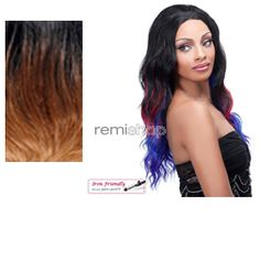Lace Front Lace Pacific Wave - Color T302 - Synthetic (Curling Iron Safe) Regular Lace Front Wig