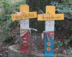 Personalized Thanksgiving Scarecrow Decor by southernchicbyle, $35.00