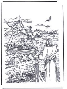 Free printable Bible coloring pages-- these images aren't too childish.