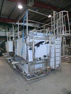C.I.P Compacta 4x6.000 litros para limpieza
