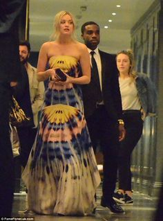 Party animals: Laura Whitmore and Ore Oduba were spotted heading to London's Mondrian Hotel together after partying up a storm at Sunday night's TV BAFTA Awards