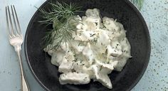 Dukan (fase 1): Kylling i peberrodssauce | Slankeklubben.dk
