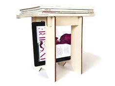 Revistero de madera #deco #home #design #diseño #hechoamano #handmade #DaWanda