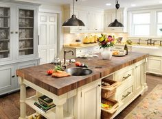Here are some really amazing kitchen island ideas! From wood, to metal and everything in between, we have 38 great examples to give you great ideas! Have a look at the many beautiful ways and styles to add a very usable space to your new or existing kitchen! To save money, consider making a DIY …