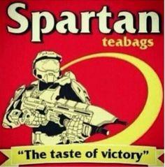 #spartan #halo #tea #bag #teabag #tastes #of #like #victory