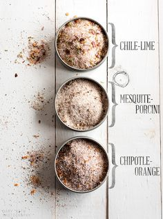 Flavored Salts by minimallyinvasivenj, via Flickr
