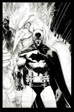 Bat+Joker by Jim Lee