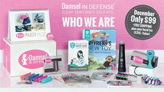 Damsel in Defense   Who We Are