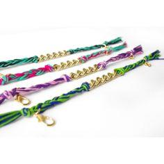 Friendship bracelets #toobuku//thebukuproject.com