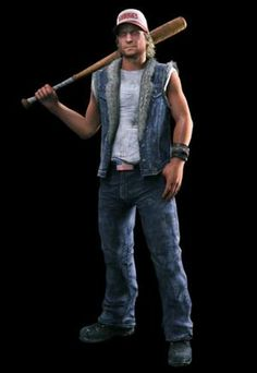 This character is called Dick Baker and he is the main characters friend, you get to play as him if you are with a friend Dead Rising 3, Apocalypse Survivor, Pants, Hunters, Zombies, Videogames, Characters, Play, Game