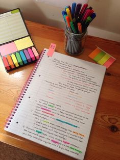 a study blog for a blue student (studiousandorganised: Making notes for Biology...) | via Tumblr